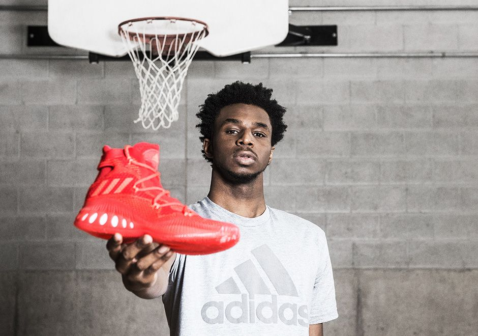 sneakers  news Andrew Wiggins and adidas Unveil The Crazy Explosive With  Boost And Primeknit 12db79aacc811