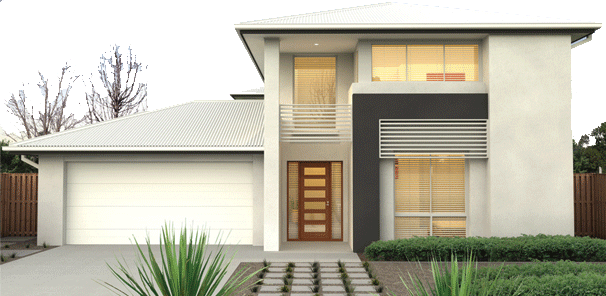 Adenbrook display homes sunshine coast queensland the ella visit - Exterior metal paint colors ideas ...