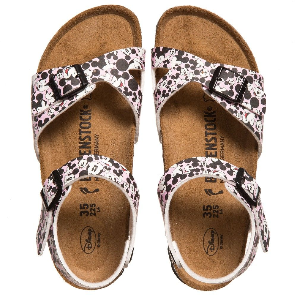 fbdda734ac9a Birkenstock girls pink mickey rio sandals jpg 1000x1000 Girls birkenstock  sandals