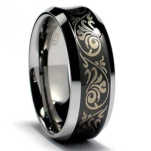 Male Wedding Rings Black Exotic Male Wedding Rings Design