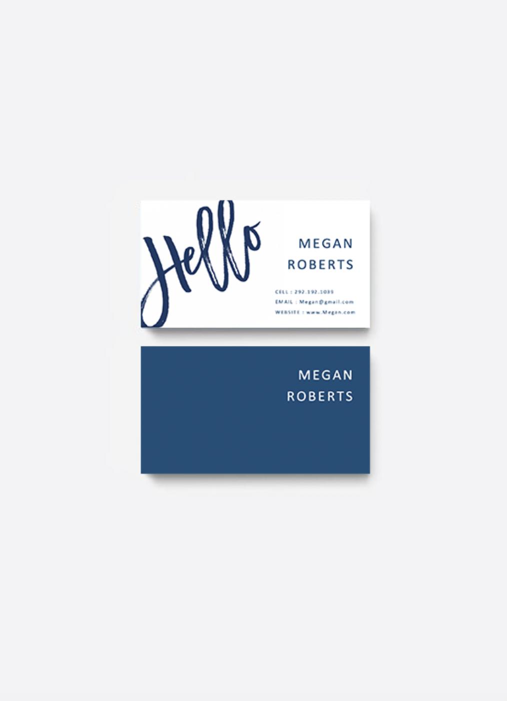 Navy Blue Modern Business Card Templates Business Cards Diy Business Cards Diy Templates Modern Business Cards Diy Business Cards