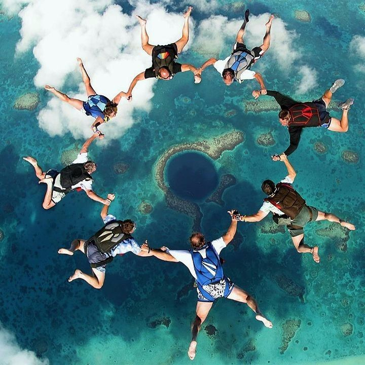 Wealth is more satisfying when you spend it with your friends #vacation #luxury #travel #friends #crew #jump #parachute . Do you want this kind of lifestyle? Make it happen today!