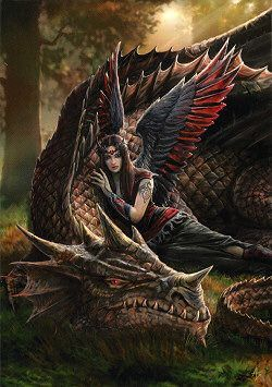 Winged companions pinterest anne stokes dragons and fairy anne stokes fairies winged companions greeting card by anne stokes dragon cards m4hsunfo