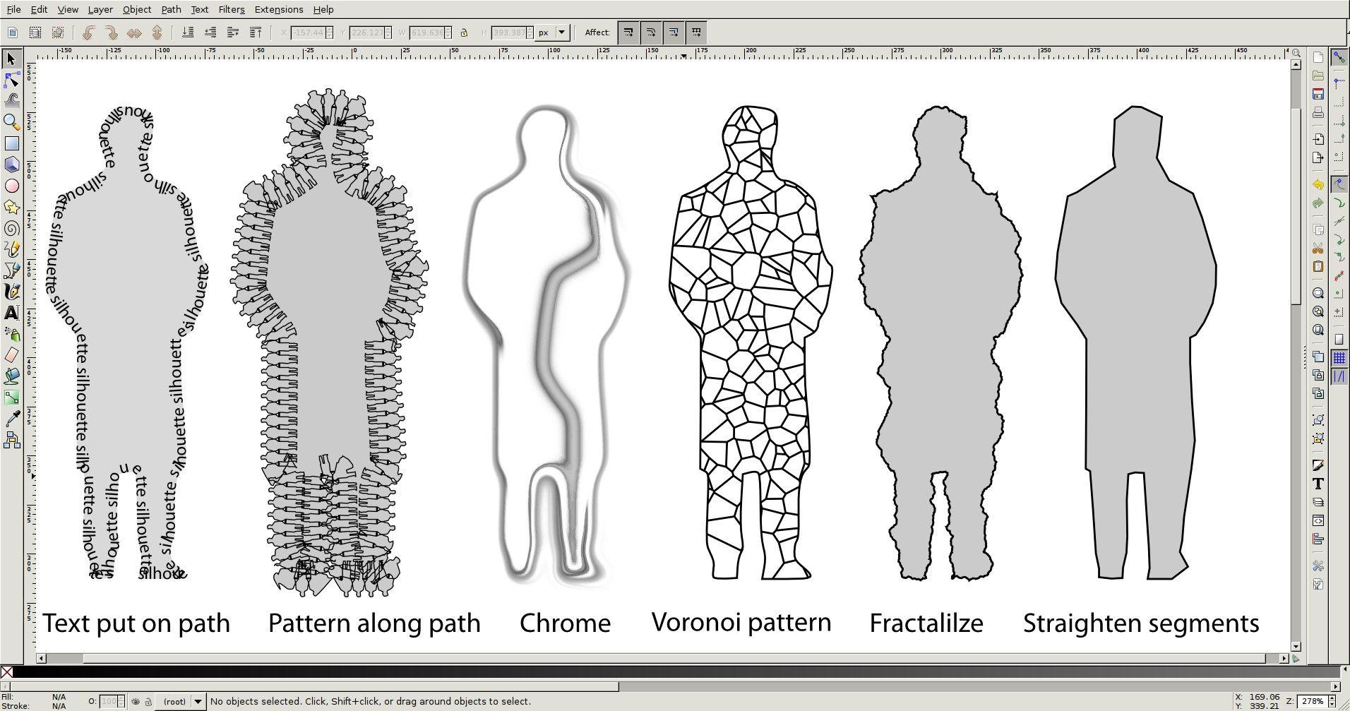 path effects inkscape Pesquisa Google imagens