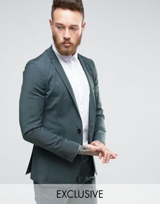Hart Hollywood Super Skinny Suit Jacket With Notch