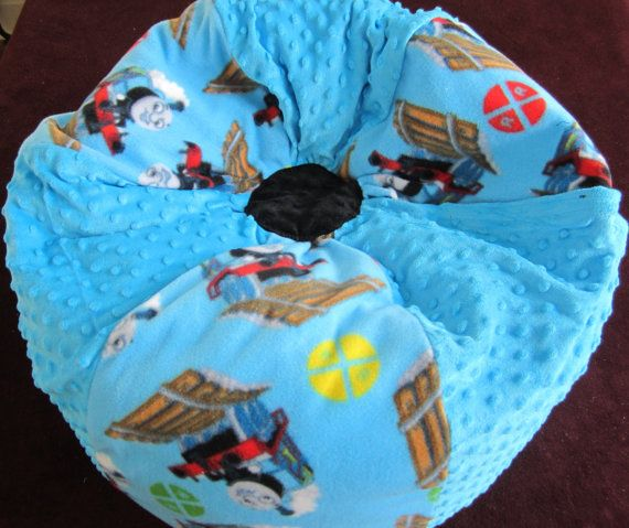 Thomas The Train Bean Bag Chair Stuffed Toy By Bluemonkeystyle