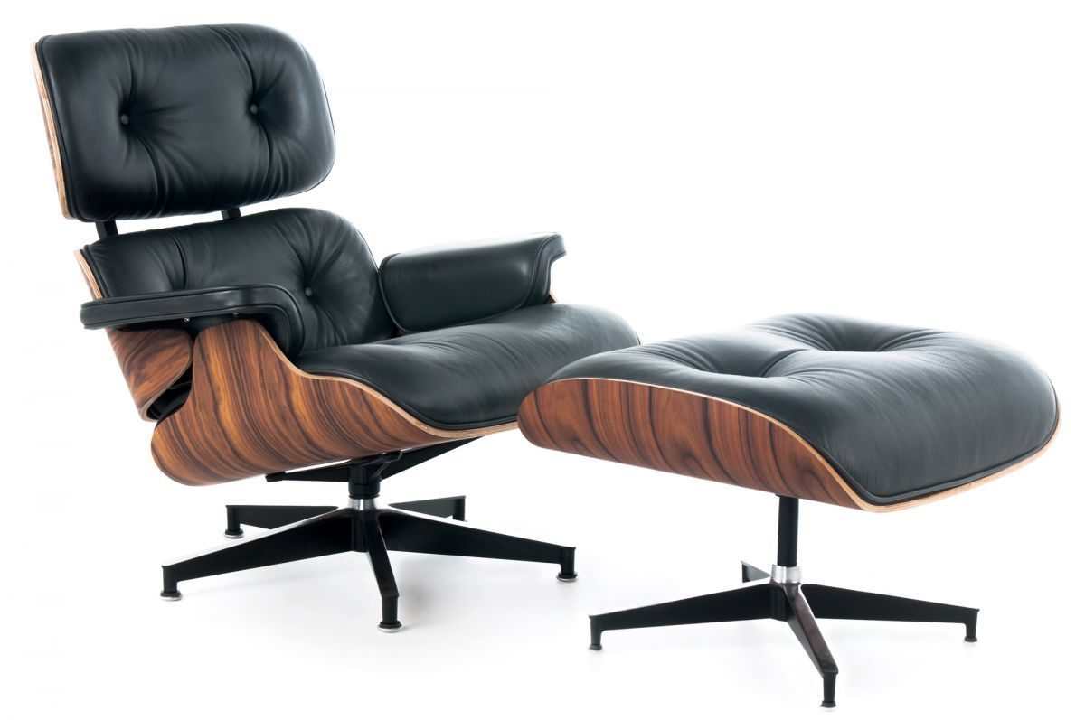 Rove Concepts Replica 1700 Lounge And Ottoman Eames Chair Reproduction Mid Century Modern