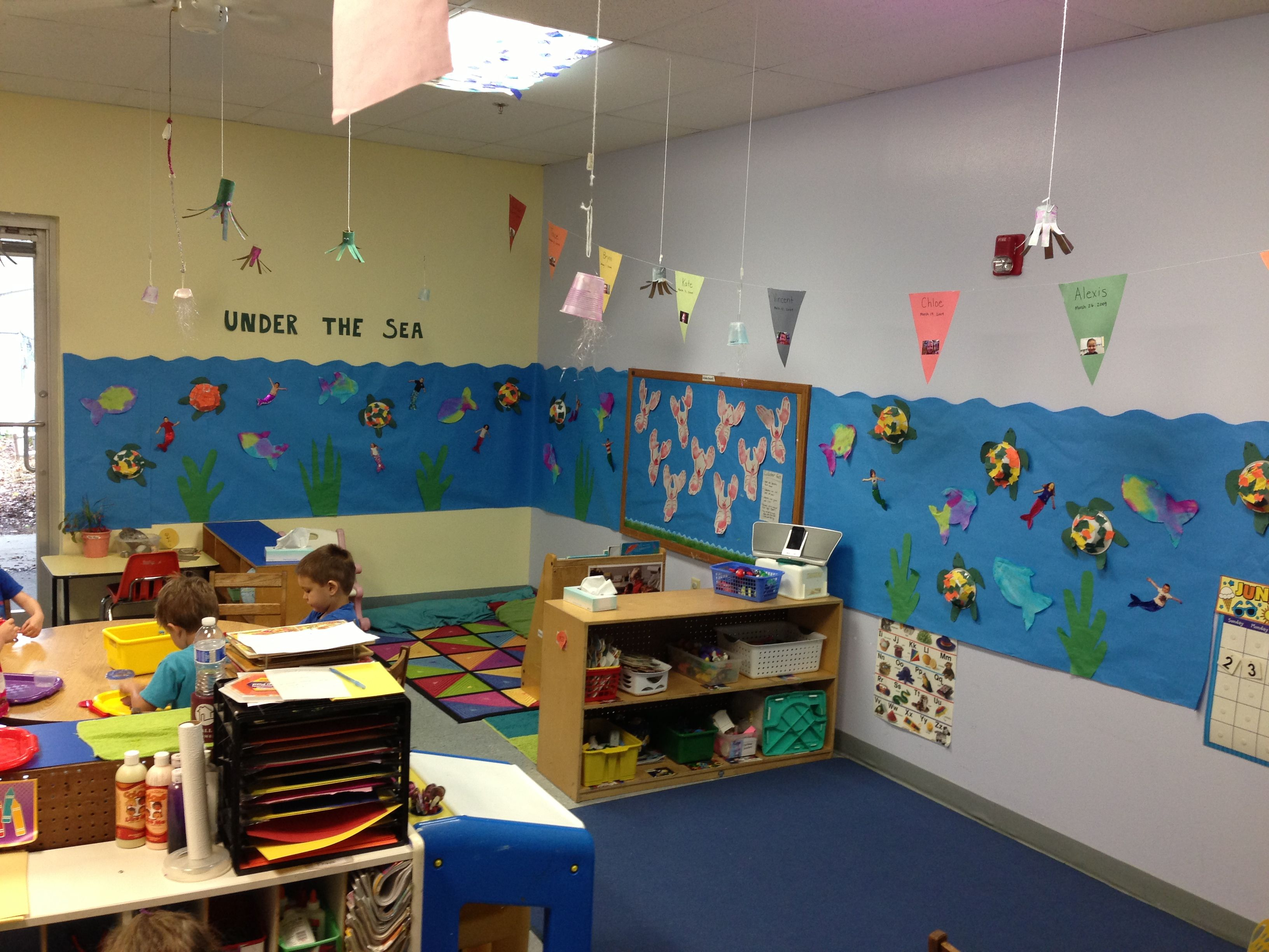 Classroom Decoration Ocean ~ Under the sea ocean week fun way to decorate your