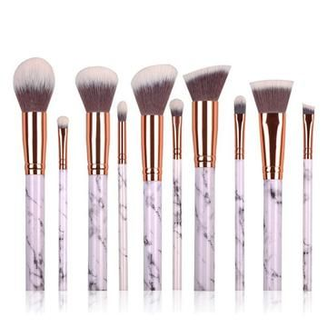 elegant 10 piece makeup brush set only 1397 free