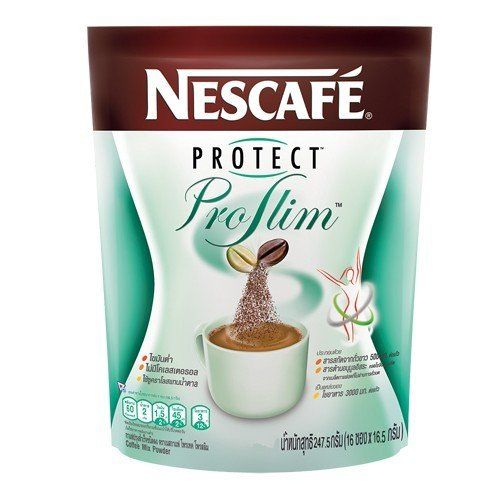 Nescafe Protect Proslim Is A Blend Of Roasted And Green Coffee Beans Giving You A Smooth And Mild Tasting Cup With A Flav Nescafe Healthy Coffee Natural Coffee