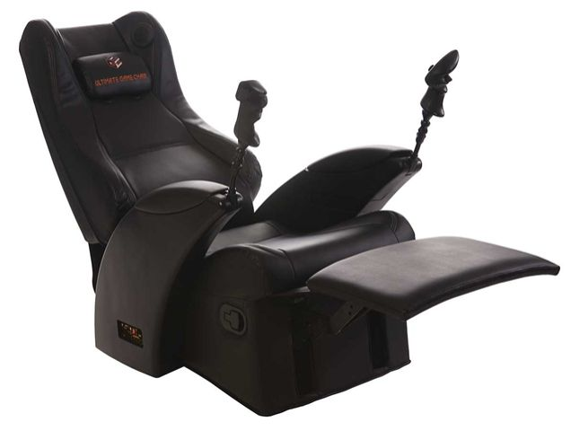 Gaming Chair With Speakers And Recliner Fancy Cinema