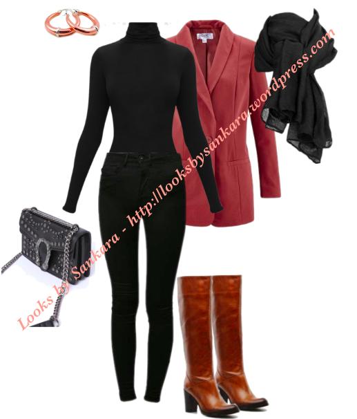 cognacBottes 27 ; Tableau blazer bottes marronBlazer et f7gYyb6