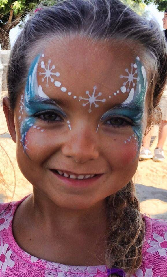 Frozen face painting crafty stuff pinterest - Fledermaus schminken ...