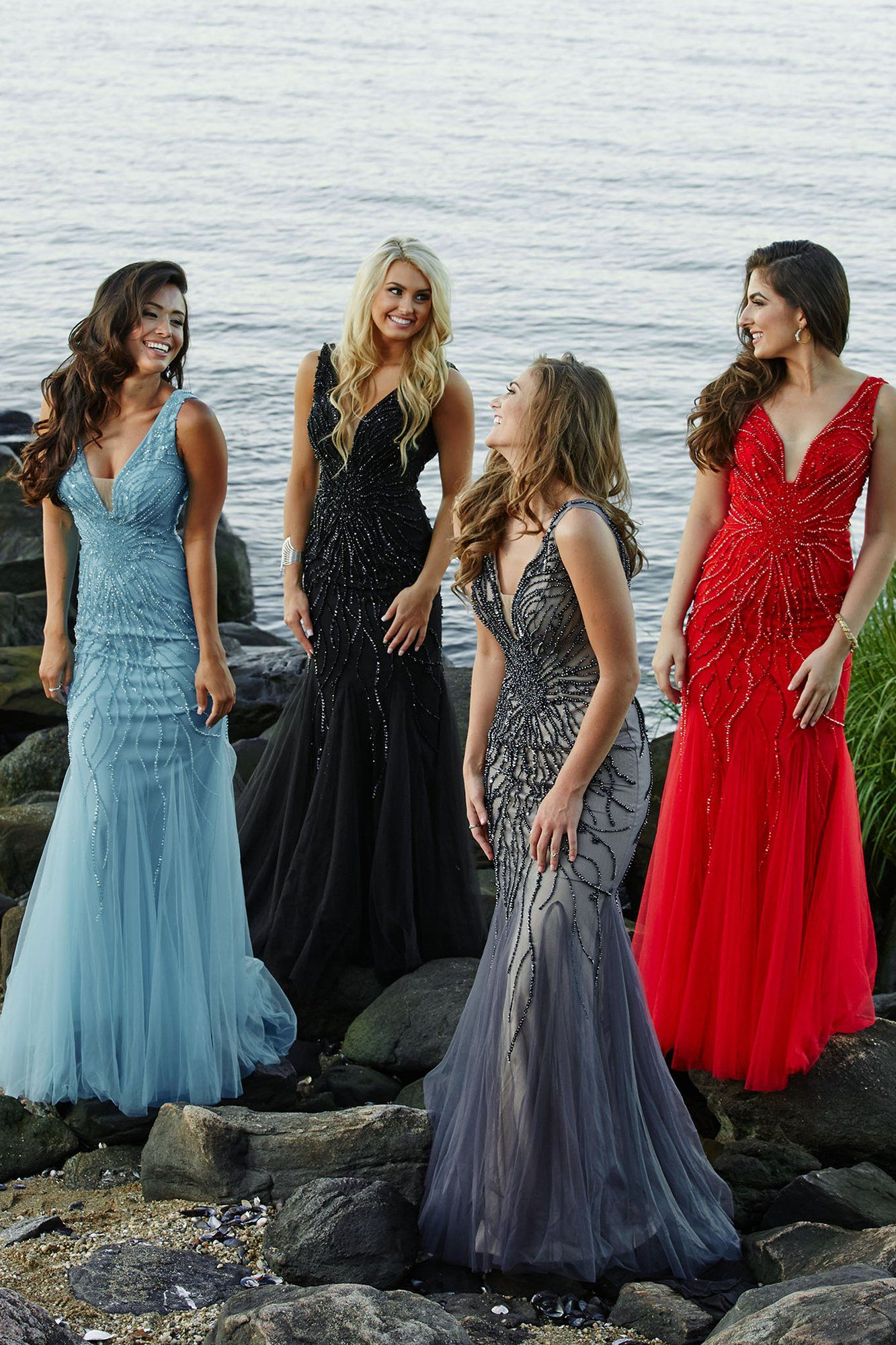 Navy Mermaid Prom Dress Prom Dresses Time to shine at PROM