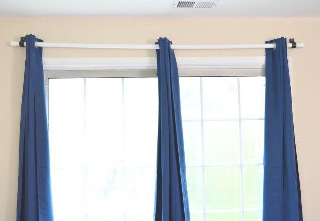 cheapest diy curtain rod using pvc pipe | Home | Pinterest | Diy ...