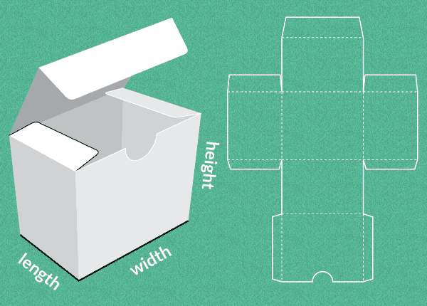 Template for any kind of box, wrapping or envelope you can ... - photo#5