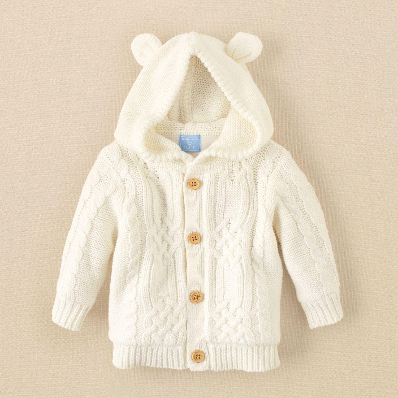 bab074353ef3 newborn - boys - sweaters   cardigans - cable-knit cardigan ...