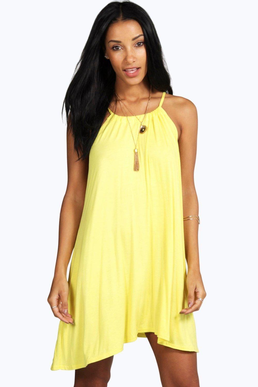 fcfdda2d21b7 Tie Neck Swing Dress | Summer☀ | Swing dress, Dresses y Fashion