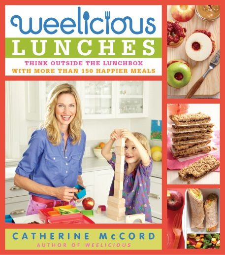 In Catherine McCord's newest cookbook Weelicious Lunches: Think Outside the Lunchbox, she shares her ingenious tips and tricks, amassed through her gigantic food empire, for packing that perfect school lunch.