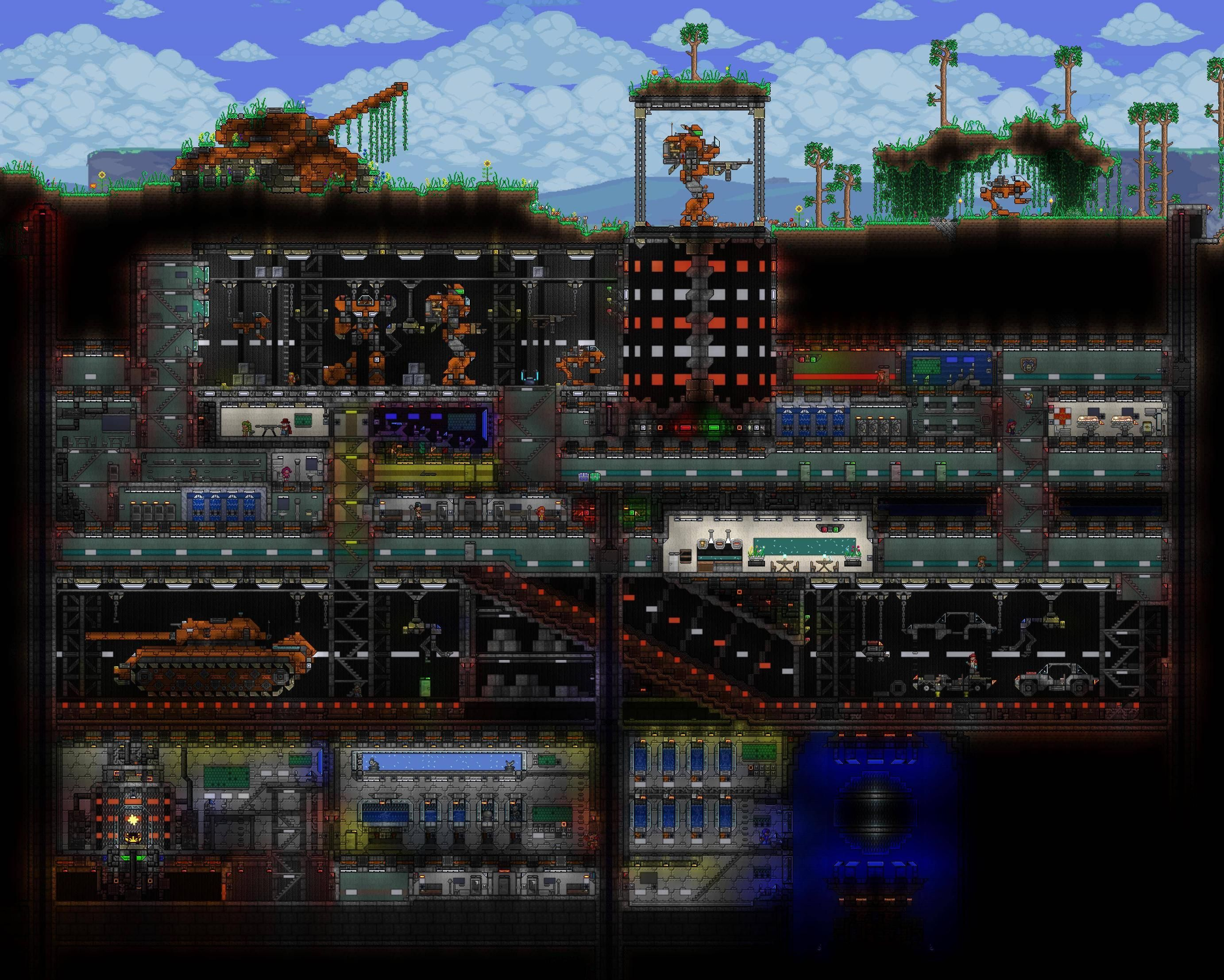 Click This Image To Show The Full Size Version Terraria House Design
