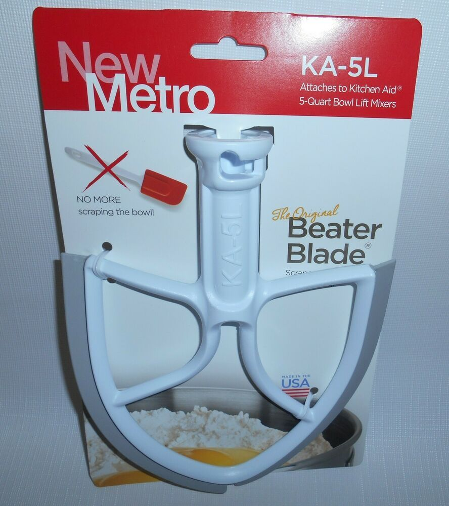 Metro Original Beater Blade Kitchen Aid 5 Quart Bowl Lift Mixer Ka 5l More Model Kitchenaid In 2020 Kitchen Aid Kitchenaid Bowl Kitchen Mixer