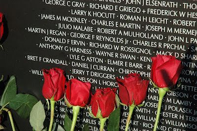 The Cost of Freedom. The Traveling Vietnam Veterans Wall visited Moundsville, WV in August, 2012.