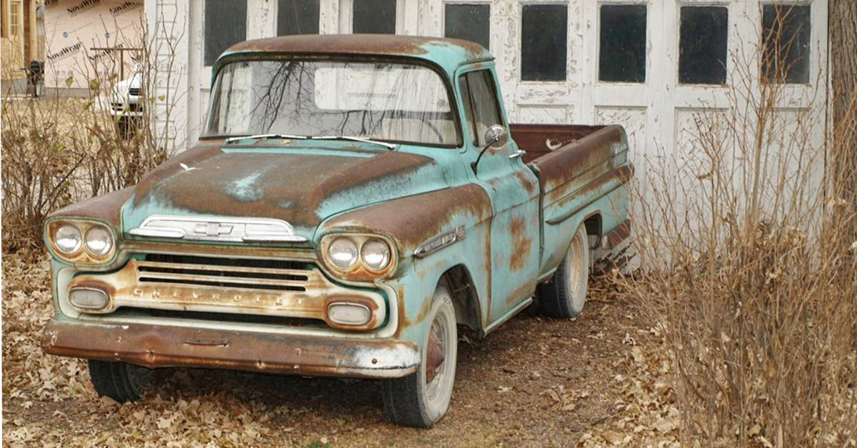 With A Little Imagination This Rusty 1940s Truck Is Transformed