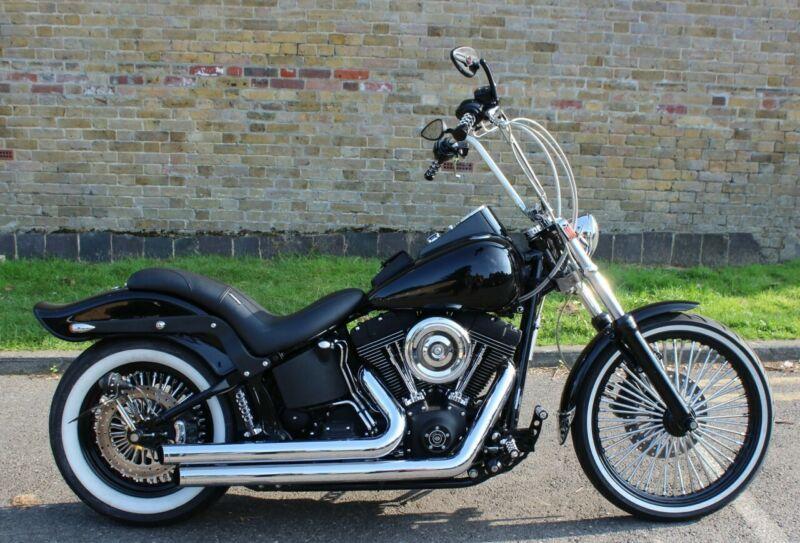 Harley Davidson Fxstbi Night Train Custom Chopper Custom Choppers Custom Chopper Harley Davidson Night Train