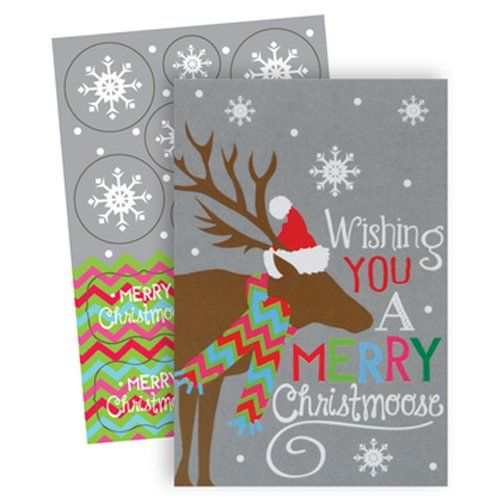 The Gift Wrap Company Boxed Holiday Cards, Medium, Christ ...