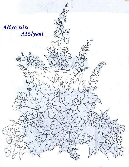 Silk Ribbon Embroidery Pattern Cross Stitch And Knitting Patterns