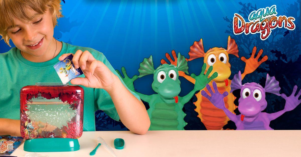 Our #AquaDragons are hungry! Remember; feed them every other day, no more! ¡Nuestros #AquaDragons están hambrientos! Recuerda darles de comer una vez cada 2 días ¡no más que se empacharán!