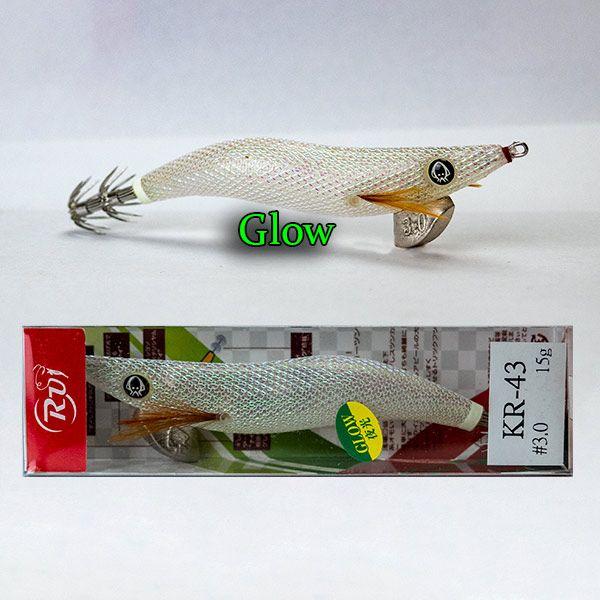 RUI SQUID JIG KR133 SIZE 3.5 EGI FISHING LURE