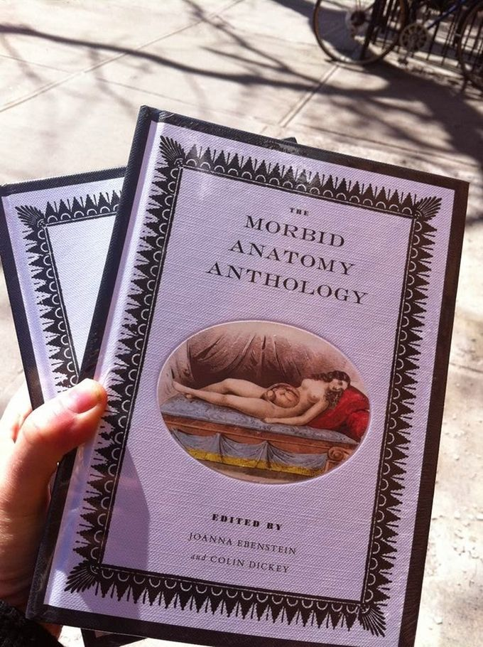 Morbid Anatomy Anthology with chapter by Ronni Thomas