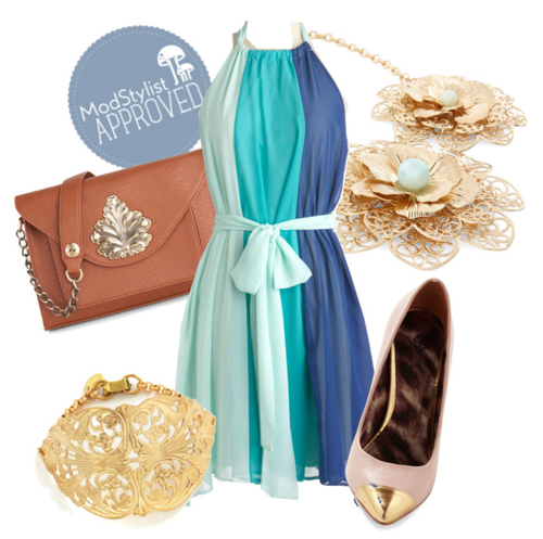 ModCloth outfit idea for Scoop of Sorbet in blue