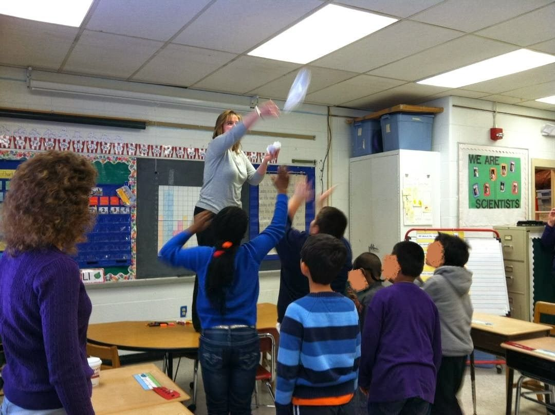 Hands On Winter Math Lesson