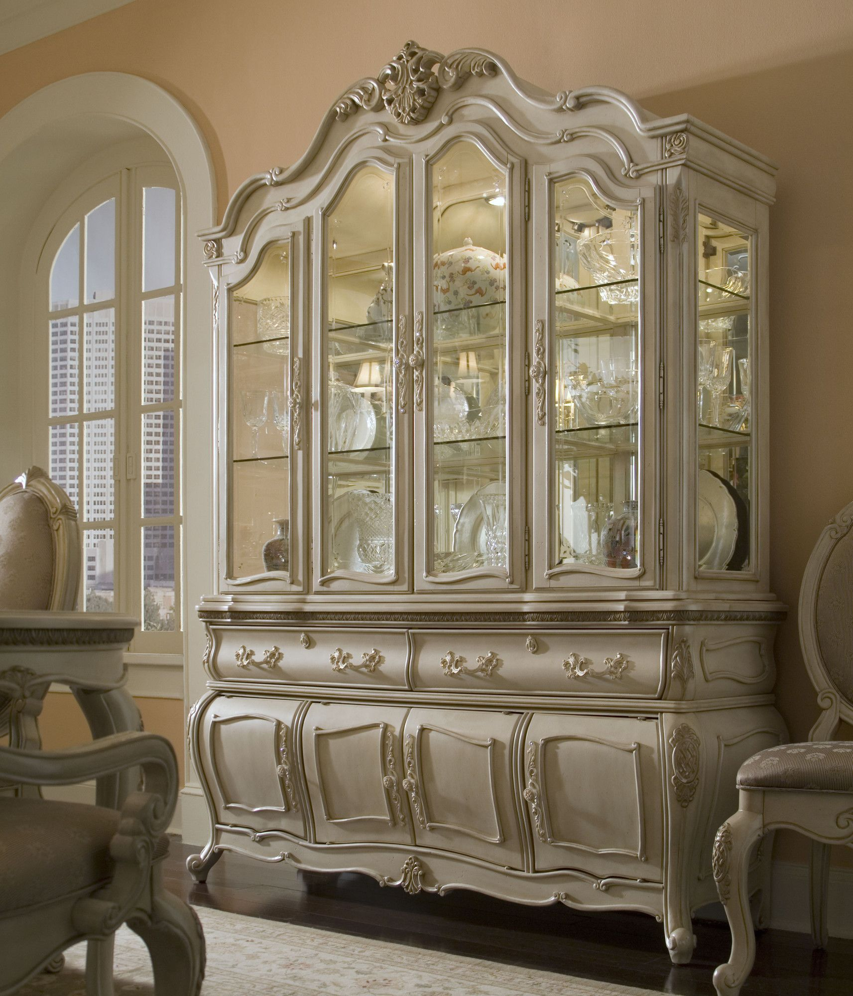 Lavelle Lighted China Cabinet | China cabinet, Furniture ...
