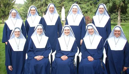 Sisters of Mary Mother of the Church.  Love these Sisters. No Feminazi Nuns here. Just women who love and serve our Lord.
