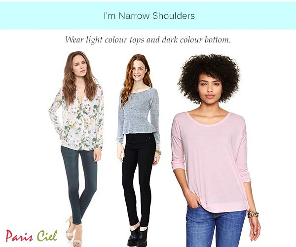 1fc99827001a9 Tips   Tricks to Dressing Women with Narrow Shoulders