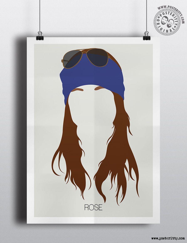 Guns n roses critical solution - Axl Rose Minimalist Hair Poster Axl Rose Drawingguns N