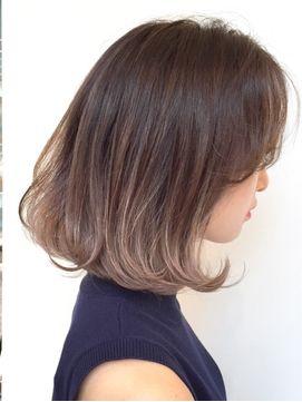 Beleza とろみバレイヤージュグラデーションカラーロブ 24時間いつでもweb予約ok ヘアスタイル10万点以上掲載 お気に入りの髪型 人気の ヘアスタイルを探すならkirei Style キレイスタイル で 秋 ヘアスタイル ヘアカット 髪型