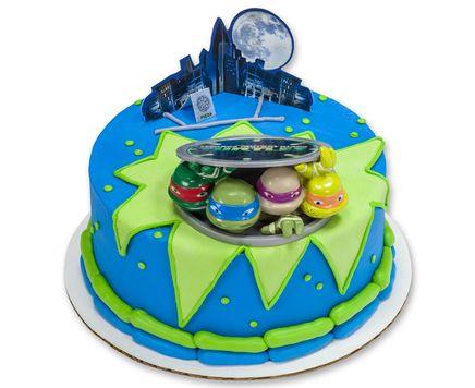 Order A Cake From A Local Bakery Ninja Turtle Birthday Cake Ninja Turtle Cake Topper Teenage Mutant Ninja Turtle Birthday
