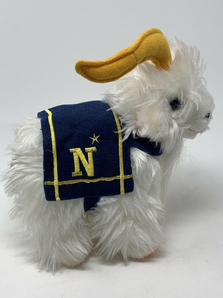 Usna United States Naval Academy Plush 7 Bill The Goat Navy