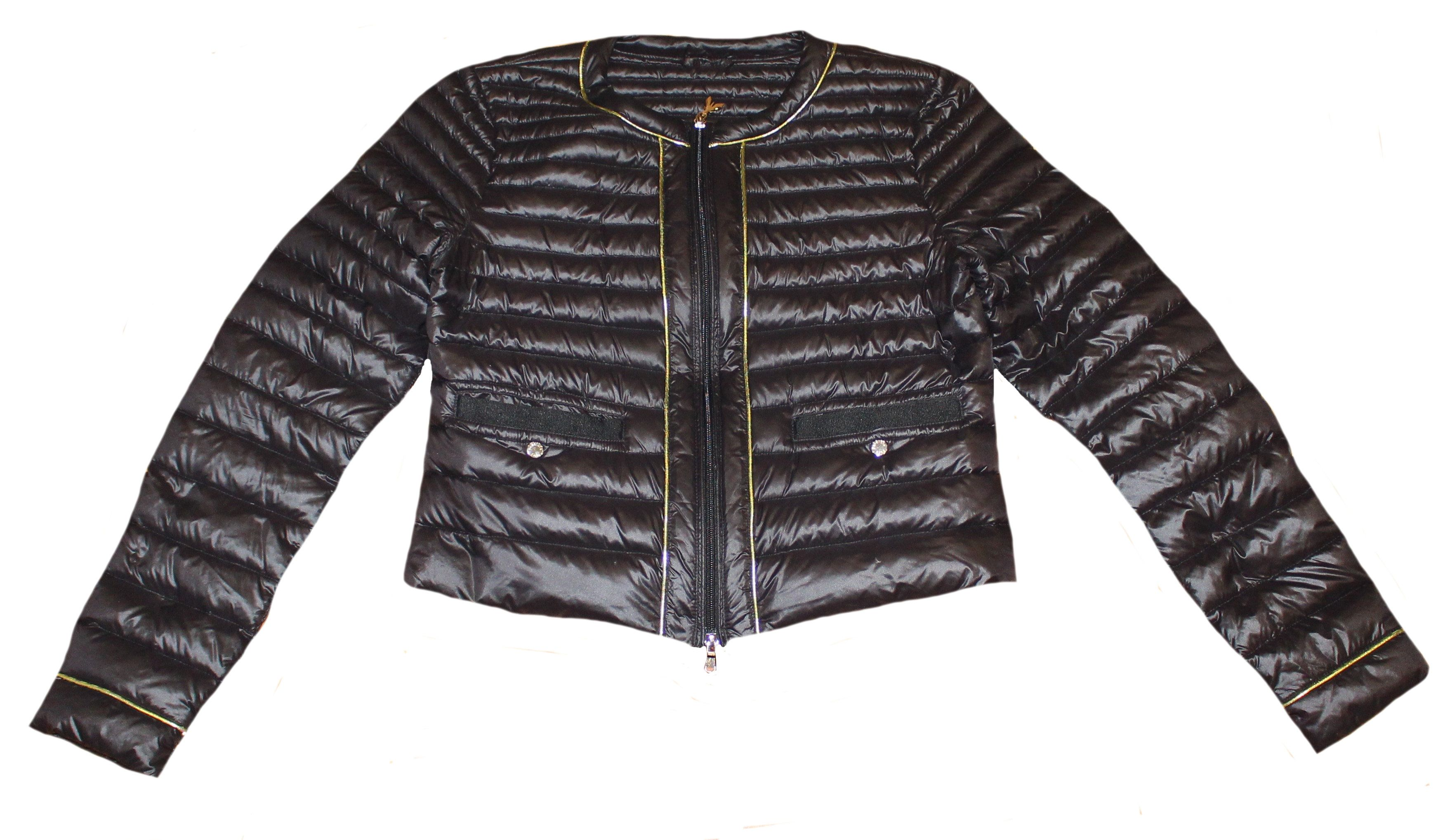 LAUREL leichte Daunenjacke Jacke dunkelblau Gr. 42