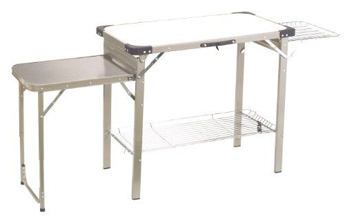 Camping Kitchen Tables Outbound portable camp kitchen silver large outbound equipment camping life workwithnaturefo
