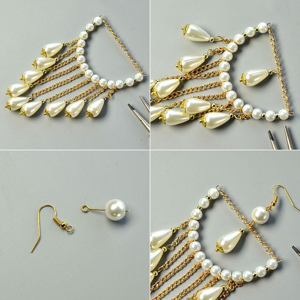 Graceful pearl bead chandelier earrings jewelry making tutorials graceful pearl bead chandelier earrings arubaitofo Image collections