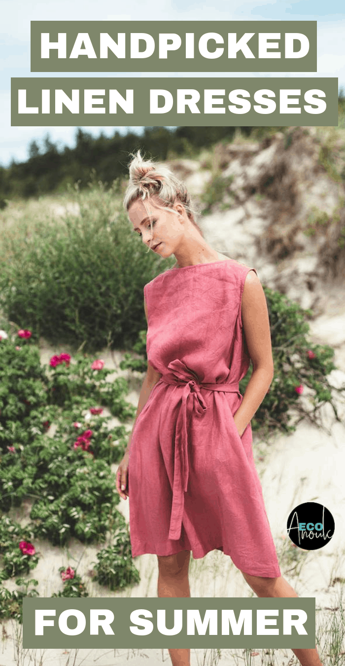 13 Linen Dresses To Help You Conquer Soaring Temperatures | Eco Anouk