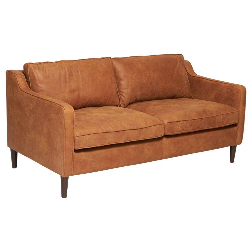 Norse Leather 2 5 Seater Sofa Tan Matt Blatt 5 Seater Sofa