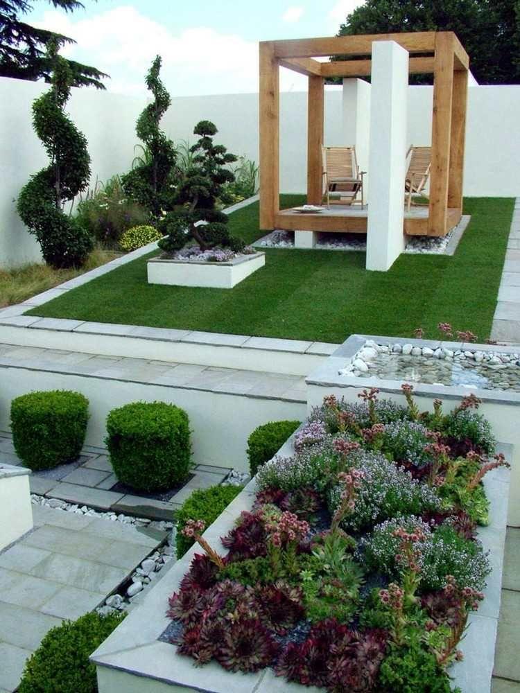 Am nagement jardin ext rieur conseils utiles en 20 - Amenagement exterieur jardin moderne ...