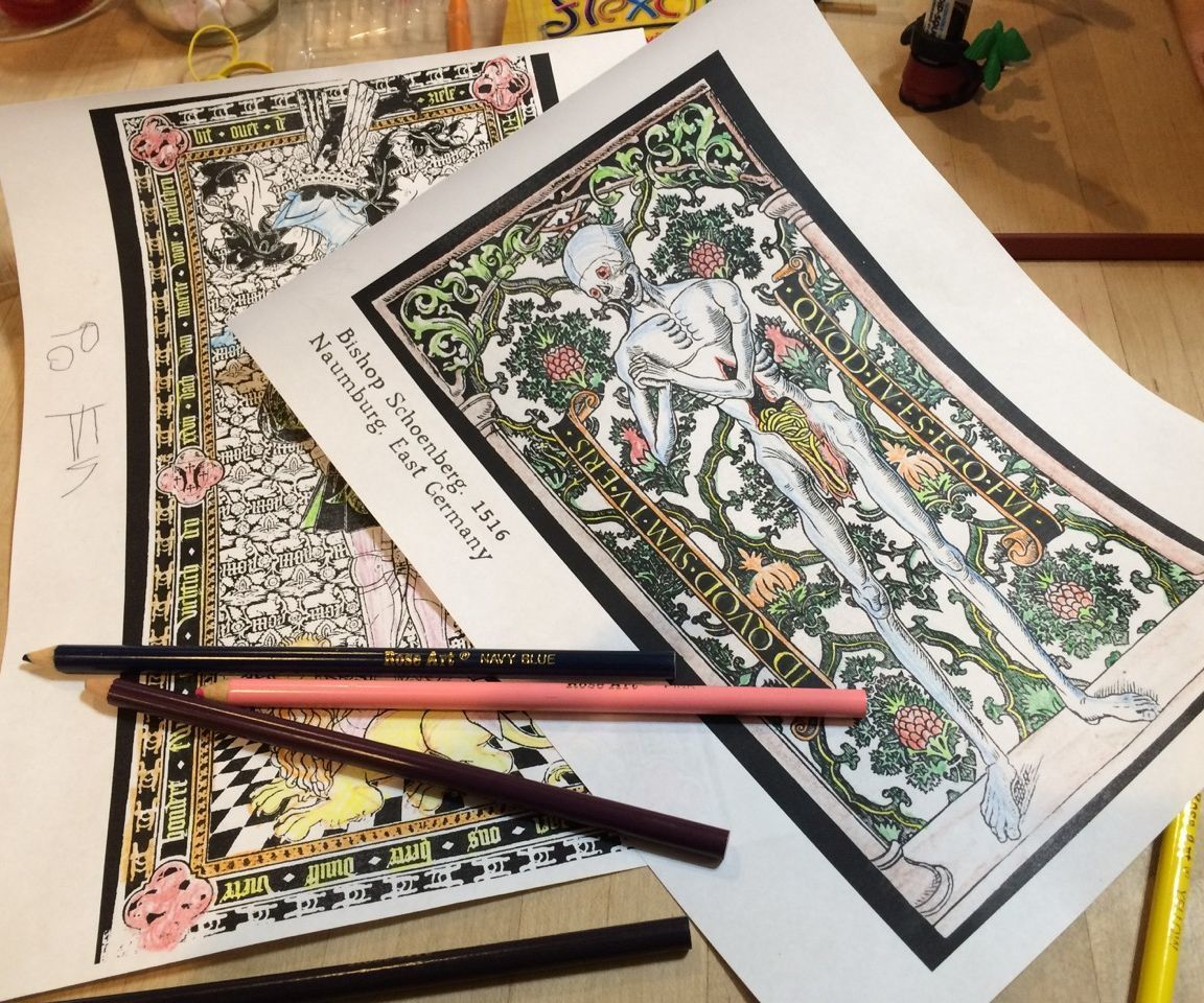 Medieval Coloring Book | Coloring books, Medieval and Books