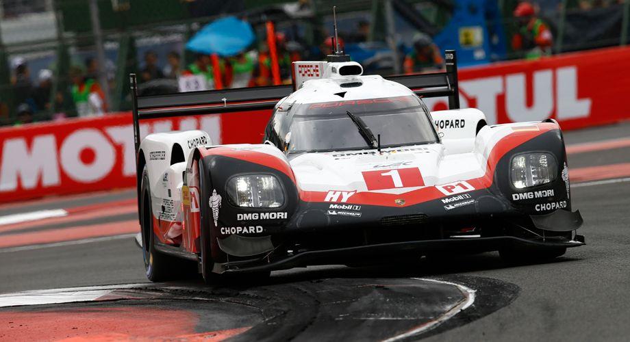 Porsche with its official timing partner Chopard still